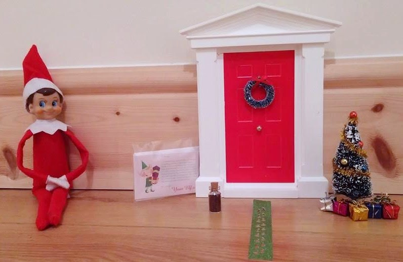 My Christmas Elf Door Review Missing Sleep
