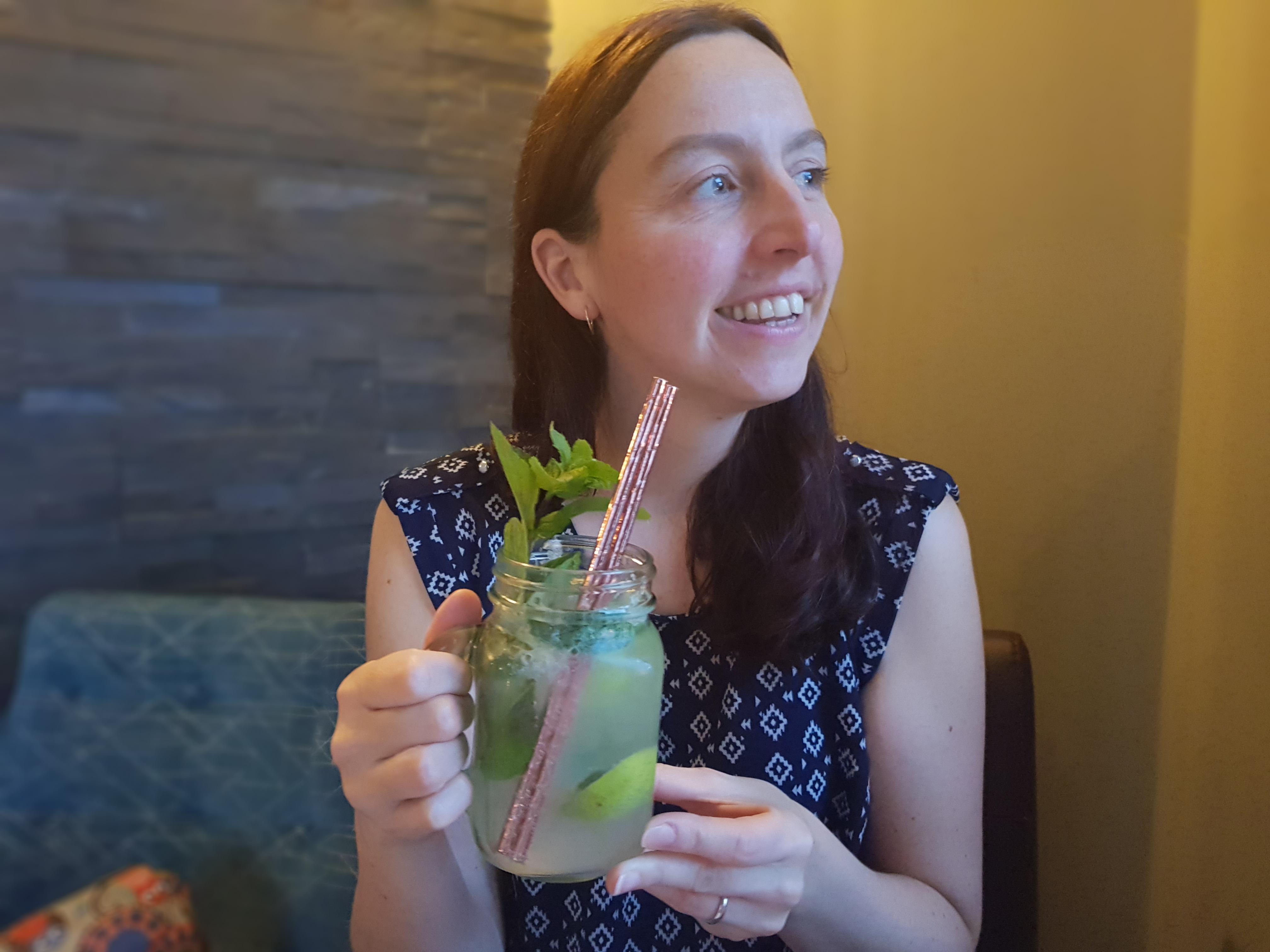 Belmont Llandudno cocktail