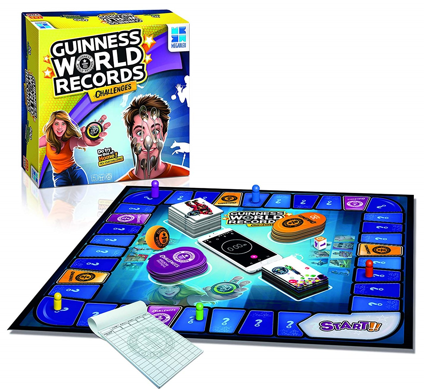 Guinness Book of Records Game